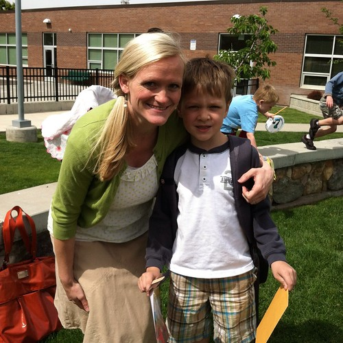 Last day of kindergarten. Miss Mary