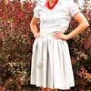 1960's Full Skirt with Modified Waistband
