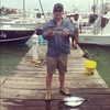 the catch of the day is blackfin tuna