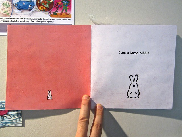 I am a rabbit / Nika Matsumoto (BCBF 2012). 6