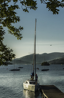 Yacht on Windermere