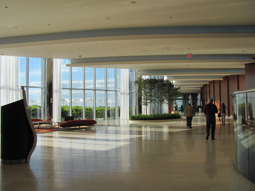 Revel Hotel Atlantic City Lobby Looking Towards Sky Gar Flickr