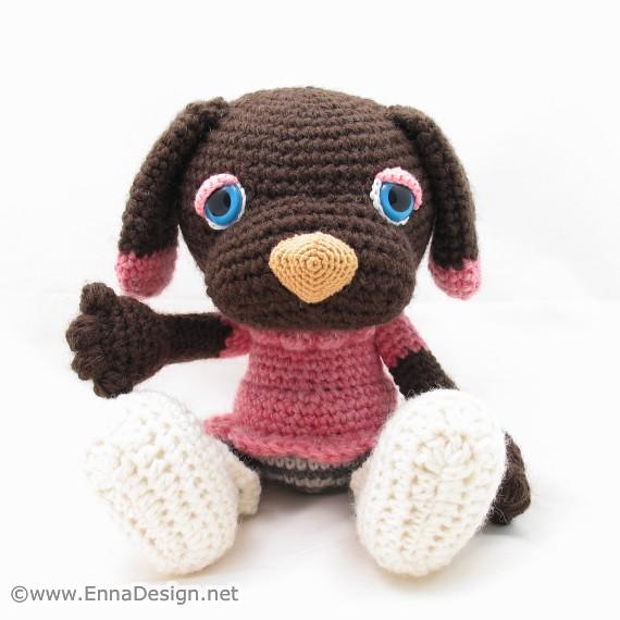 Crochet Amigurumi Blogs : Crochet Amigurumi Dog Art Doll Flickr - Photo Sharing!