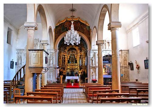 Interior da igreja do Espinhal by VRfoto