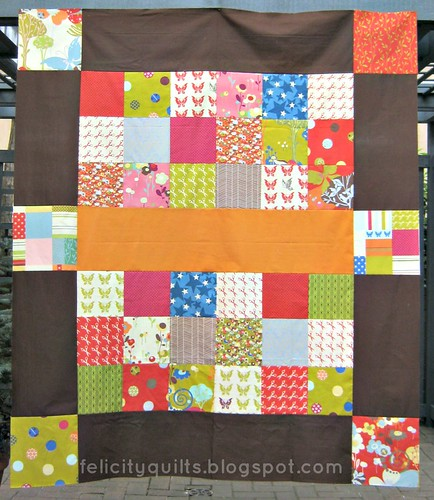 Wonderland Quilt Top for Siblings Together