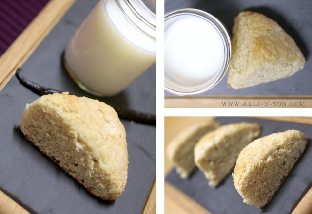 Vanilla Bean Scones Recipe