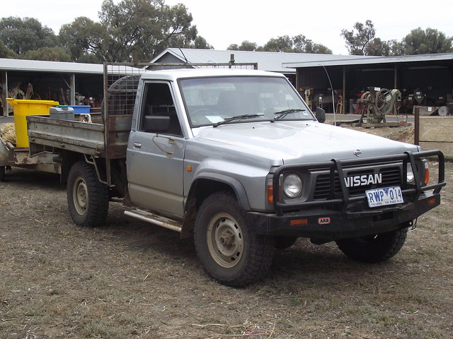 1992 nissan patrol 4x4 ute flickr photo sharing. Black Bedroom Furniture Sets. Home Design Ideas