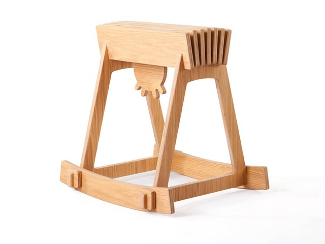 milky chair