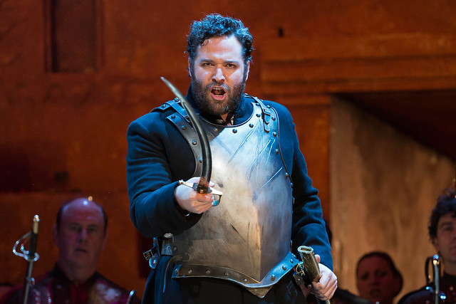 Bryan Hymel as Aeneas in Les Troyens, The Royal Opera © ROH/Bill Cooper, 2012