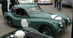 157 Jaguar XK140 1956 green vr