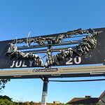 The Dark Knight Rises 3D Billboard