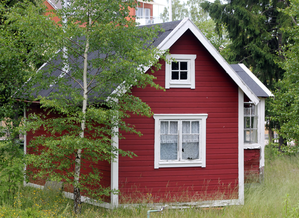 A Little Red Cottage