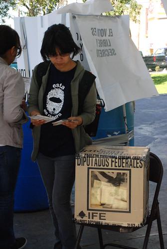 Elecciones presidenciales en México by Oscar R Ortega / Journalism