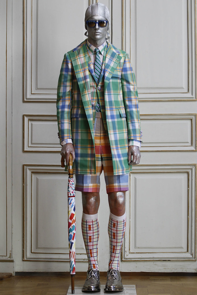 Jakob Hybholt4034_SS13 Paris Thom Browne(VOGUE)
