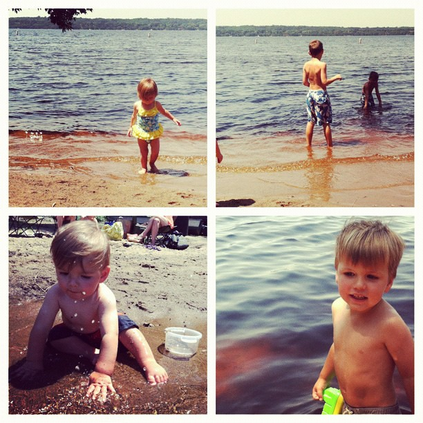 St croix river beach day