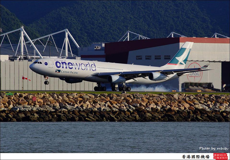 Cathay Pacific Airways / B-HXG / Hong Kong International Airport