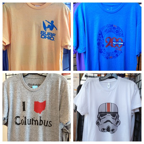 Great local gifts and souvenirs at the Experience Columbus Arena District Visitor Center