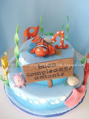 Torta Nemo 1 anno