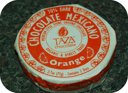 Taza Orange Chocolate Disk
