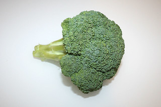 03 - Zutat Brokkoli / Ingredient broccoli
