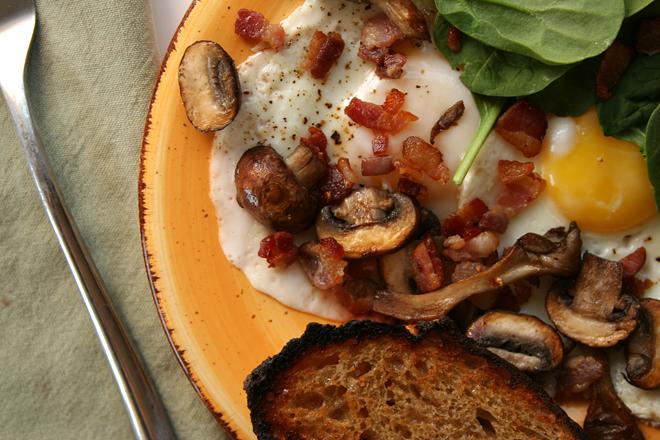 bacon mushroom skillet 6