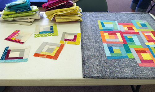 Cincinnati Modern Quilt Guild ~ Improv Piecing