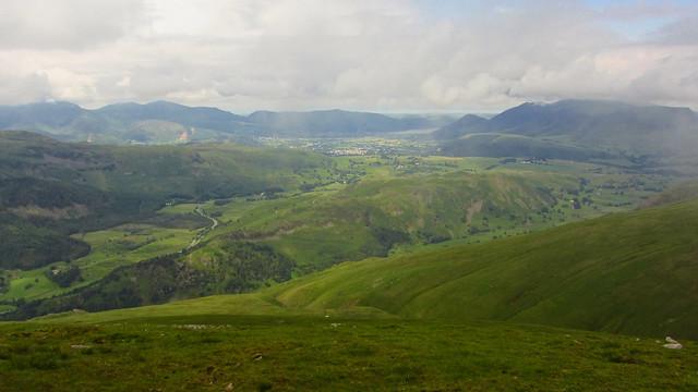 The Greta Valley and Keswick