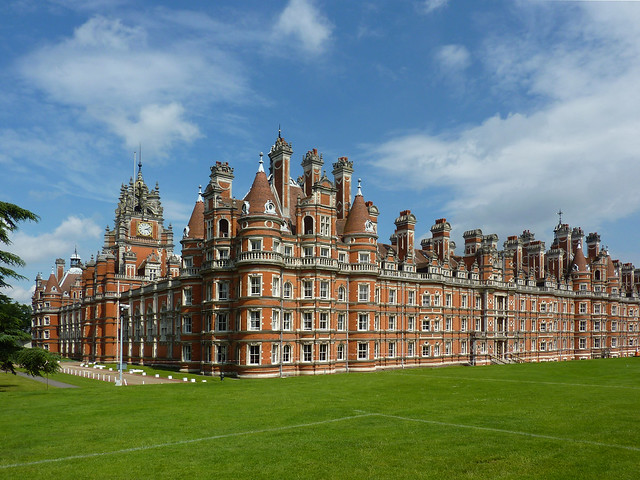 Founders Building - Royal Holloway College - Egham