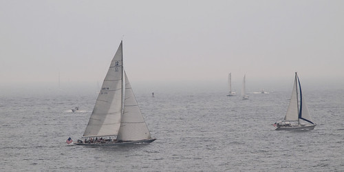 12 Meter America's Cup Yacht US16 - Columbia by Joe Tecza