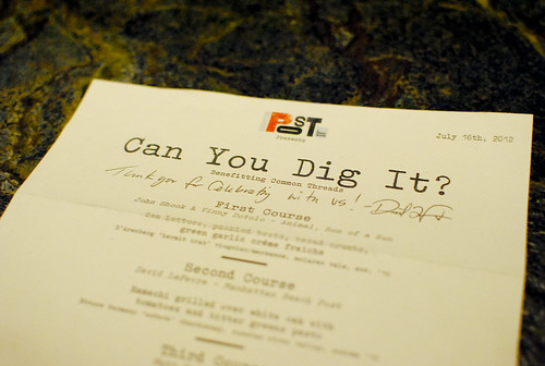 can you dig it menu