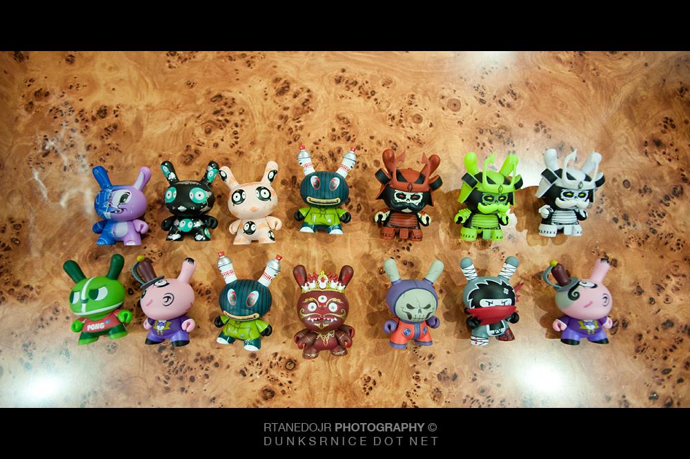 2012 Kidrobot Dunny's.