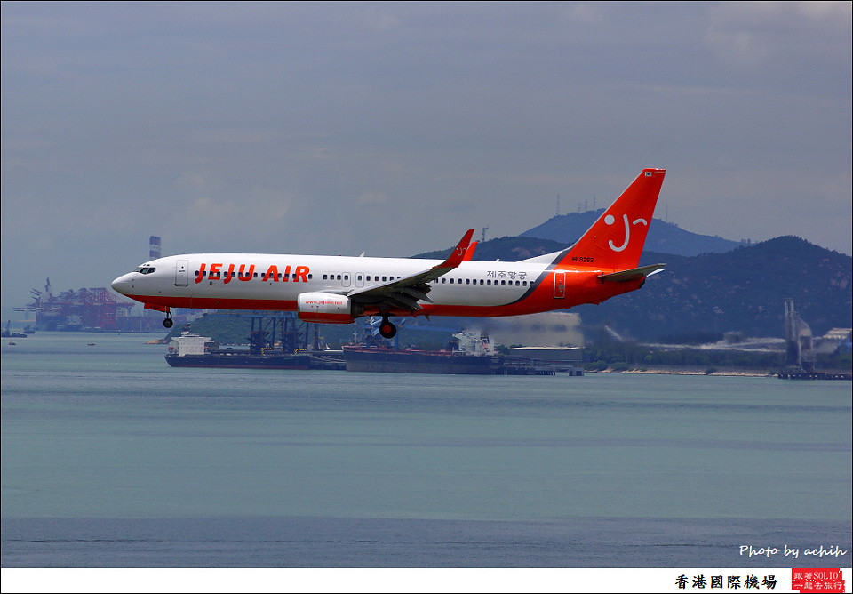 Jeju Air / HL8262 / Hong Kong International Airport