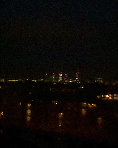the shard light show