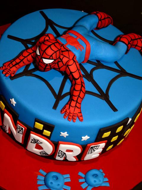 Spiderman Cake Flickr Photo Sharing