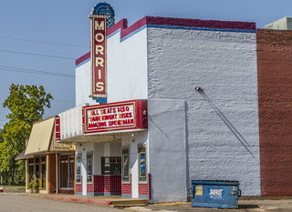 Morris Theater in Daingerfield, Texas