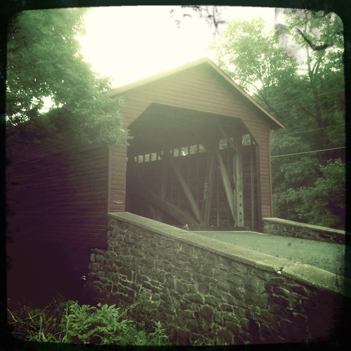 maryland coveredbridge photosafari utica frederick iphone 366 frederickcounty jul12 iphoneography hipstamatic project3662012