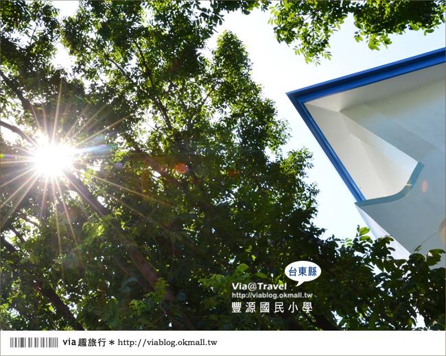 【台東地中海國小】台東豐源國小~一起探訪全台最美的小學!!28