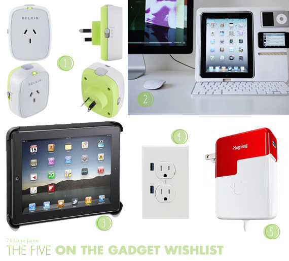 {the five} on the gadget wishlist