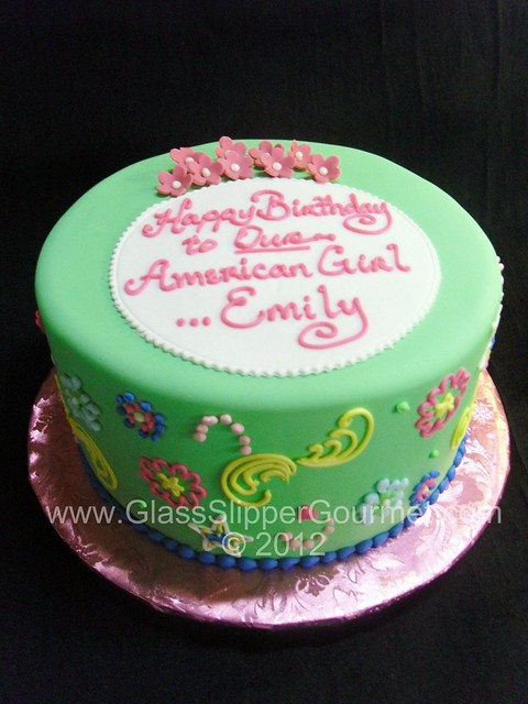 American Girl Fondant Cakes http://www.flickr.com/photos/glassslippergourmet/7633670038/