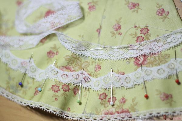 Making a dress for a teddy-bear or doll tutorial