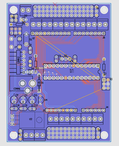RoboBrrd Brain Board v2