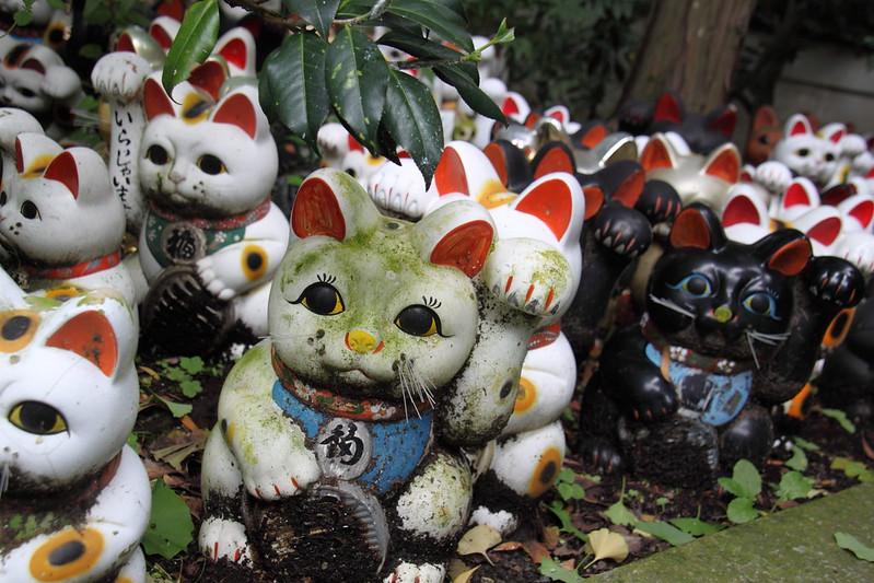 淡嶋神社のまねき猫
