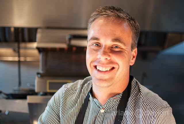 Model Milk Bistro Chef Justin Leboe