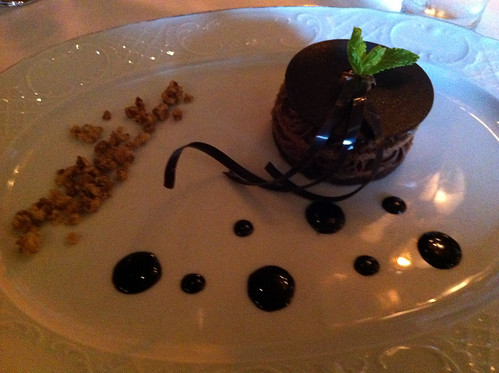 Norwegian Pearl - Le Bistro - Chocolate Napoleon with Hazelnut Crunch