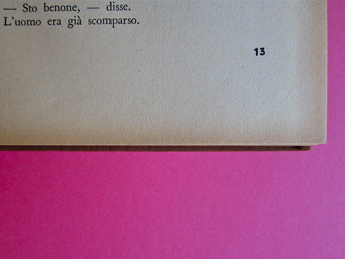 Gore Vidal, La città perversa, Elmo editore 1949. Pag. 13 (part.), 1