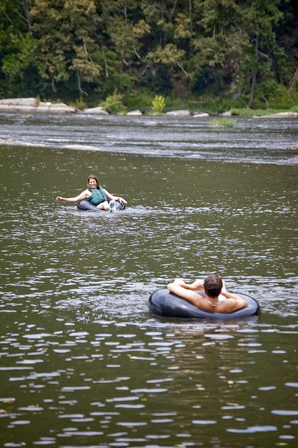 Rent a float at New River State Park!