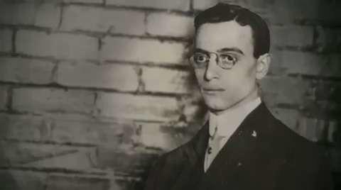 Leo Frank Portrait in Prison 1915