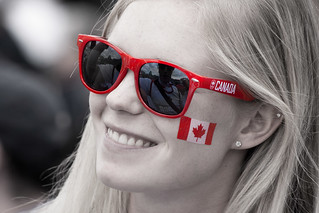 Canadian Spectator at London Olympic 2012