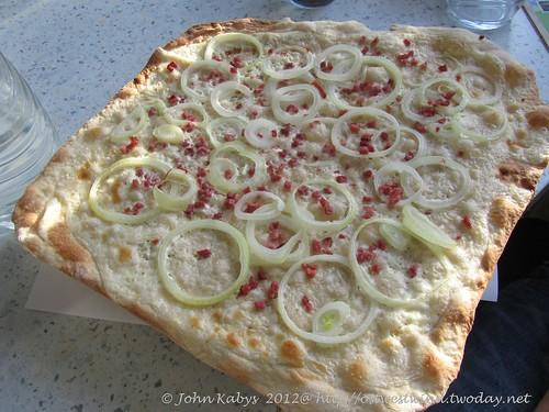 Flammkuchen Pizzastein  (1)