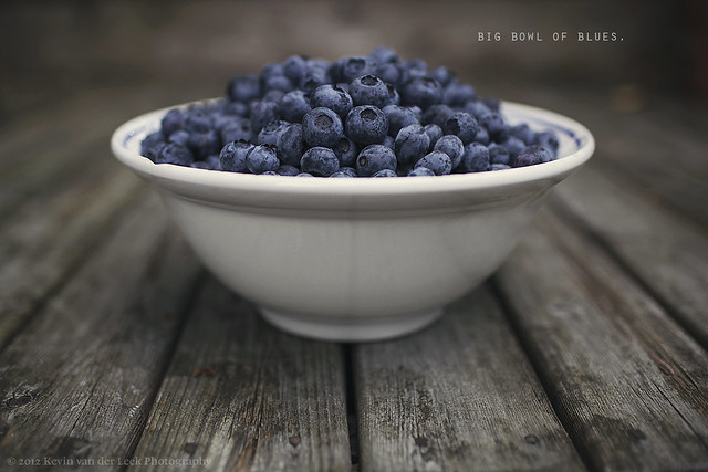Big bowl of blues - Creative Still Life Photography